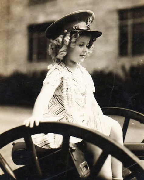 Shirley Temple.....she was so gorgeous and a delightful little actress