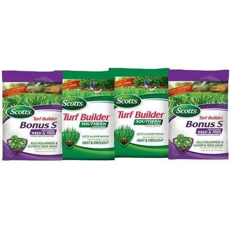 Scotts Turf Builder 15 lb  5,000 sq  ft  Weed and Feed Lawn