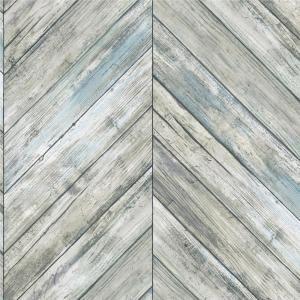 Roommates 28 18 Sq Ft Herringbone Wood Boards Peel And Stick Wallpaper Rmk11454wp The Home Depot Herringbone Wood Wood Wallpaper Brick And Wood