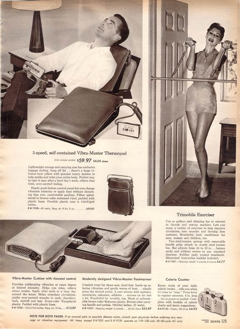 vintage work out   Vintage Clothing Love: Losing Weight in the 1950's