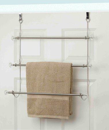 Three Tier Towel Rack Zulily Zulilyfinds Towel Rack Towel