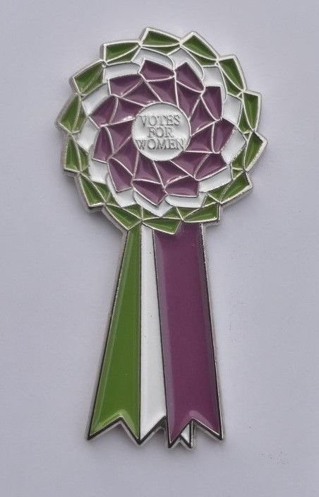 WSPU Votes for Women Sufragette Cadenas Moderna r/éplica sufragette insignia broche