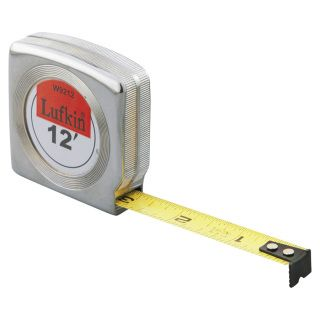 Lufkin 1 2 X12 Economy Tape Rule Lufkin Tape Measure Chrome