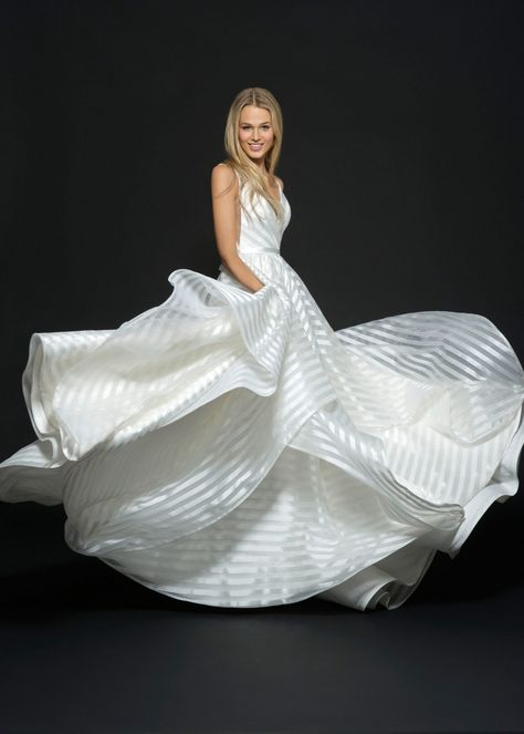 8 Spring 2020 Wedding Dress Trends We Can't Get Enough Of! These unusual wedding dresses are making a come back as the latest wedding trend. Click here to find out more.  #weddingdressideas #chicweddingdresses #whimsicalweddingdresses #weddingtrends2019 #weddingtrend2020