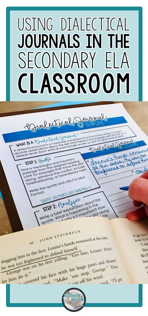 Including Dialectical Journal Entries Into Your Novel Study Is An Ideal Way To Help Students Teaching Literature Teaching High School English Teaching Writing