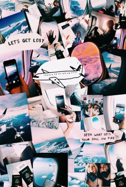 Travel Wallpaper Collage 44 Best Ideas Travel Aesthetic Iphone