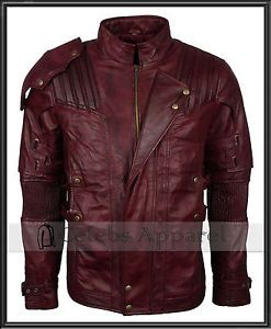 9bb2fdaf5 Details about Chris Pratt Avengers Infinity War Starlord Leather ...