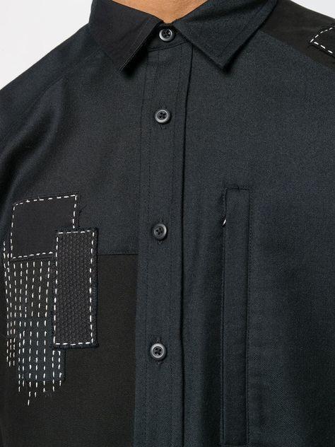 Maharishi 패치워크 롱 셔츠 | 전 세계 럭셔리 브랜드를 한눈에 볼 수 있는 파페치 ✈ 한국까지 쉽고 빠른 배송, 간편한 무료 반품