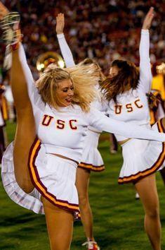 usc lied mädchen cheerleader