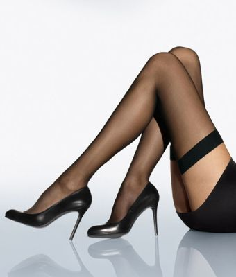 Wolford Individual 10 Thigh Highs