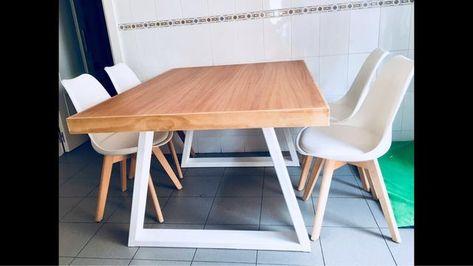 Mesa nórdica ideal para cocina salón de segunda mano por 170 ...