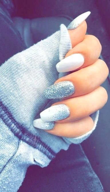 Most Up To Date Photographs Nail Art Glitter Ombre Suggestions Followed By Outfits Hair Plus Shoes And Boots Yo In 2021 Long Acrylic Nails Trendy Nails Elegant Nails