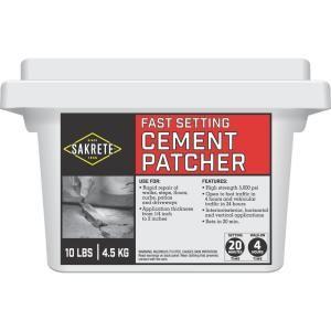 Sakrete 10 Lb Fast Setting Cement Patcher 60205004 In 2020