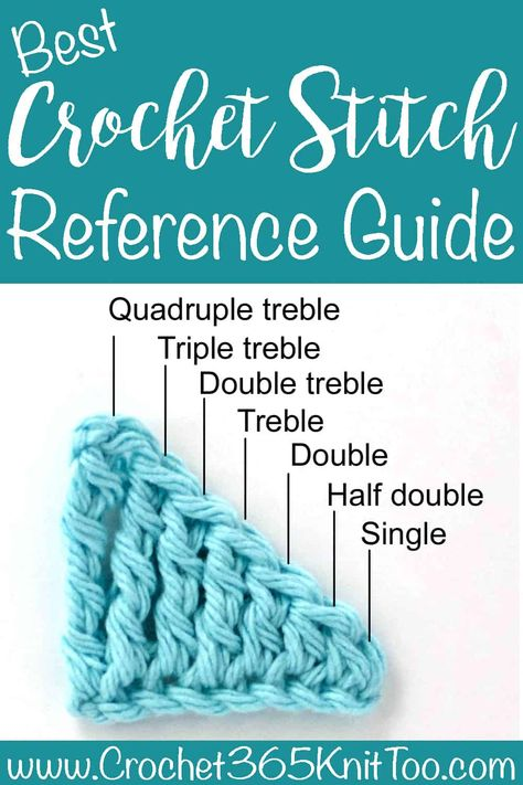 Now that you've learned a few stitches, let's take a look at crochet stitch heights. As you might remember, a double crochet requires one yarn over before inserting the hook into the next stitch… Easy Crochet Stitches, Crochet Simple, Crochet Borders, Crochet Basics, Filet Crochet, Diy Crochet, Crochet Crafts, Double Crochet, Crochet Stitches For Beginners