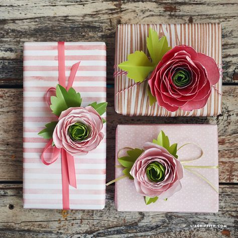 Paper Ranunculus Flowers - Lia Griffith