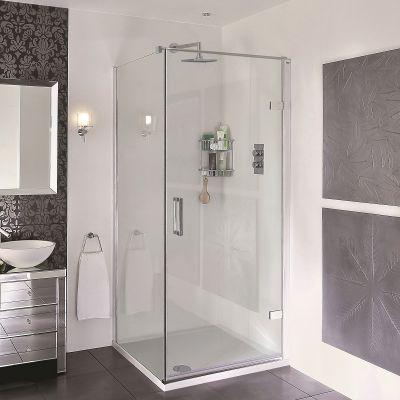 Aqata Spectra Sp456 Hinged Corner Shower Enclosure In 2020 Corner Shower Enclosures Corner Shower Shower Enclosure