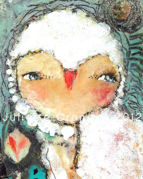 Owl Paintings and Other Whimsical Mixed Media Art From the Heart by Juliette Crane