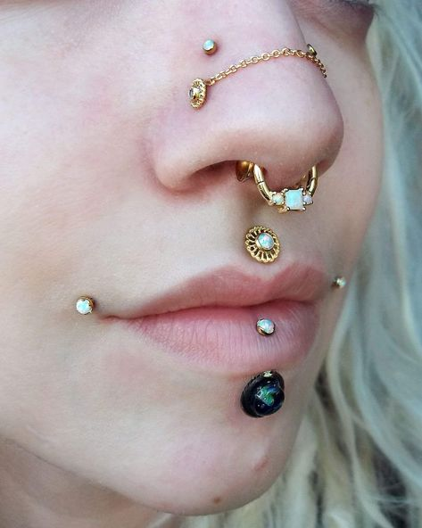 Nipples jewelry Nipple piercing also available in hypoallergenic chain on demand