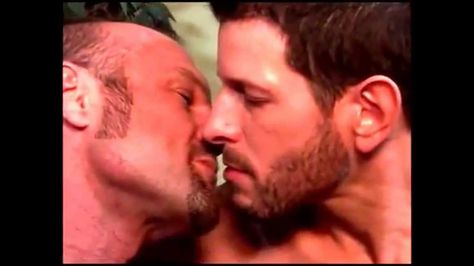 Hot guys kissing each other 2 (Mr Goatee and Mr Beard starting at 2:26 are my favorites - I wanna be Mr Goatee's stand-in and kiss the gorgeous Mr Beard!!!)