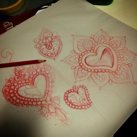 """""""The heart was made to be broken""""O.W #tattoo #missjuliet #sketching (presso South Ink Tattoo)"""