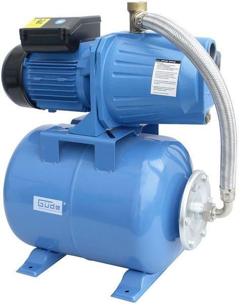 Gude Hww 1300g Hauswasserwerk 94195 Pumpe Gartenpumpe Druckschalter 24 Liter Neu Wasserwerk Wasserversorgung Teich
