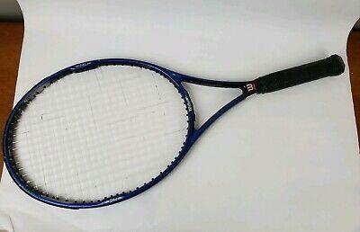 Wilson Hammer 7 4 Tennis Racket Grip Size 4 110 In 2020 Tennis Racket Rackets Tennis