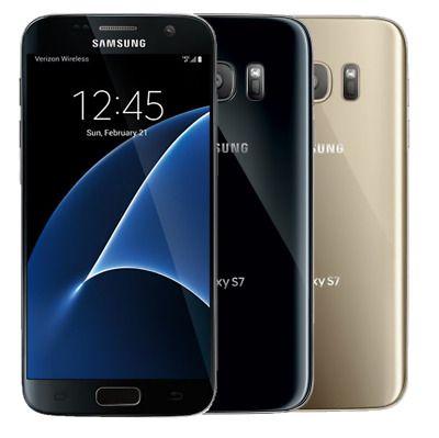 Details About Samsung Galaxy S7 G930 32gb Gsm Unlocked Onyx Black 4g Lte Smartphone A Grade