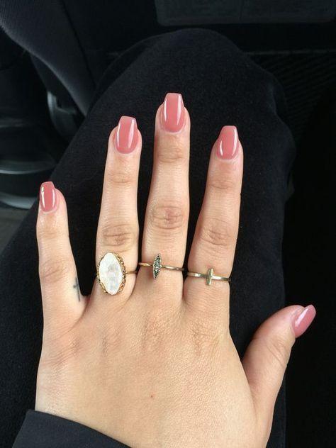 Acrylic nails - short coffin nails. Are you looking for short casket Acrylic Na ... #acrylic #coffin #looking #nails #short