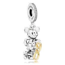 Charm pendentif Disney, Mickey Sorcier | Anillos de pandora ...