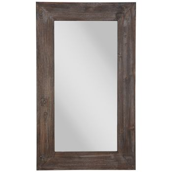 Pin By Seven On Muebles In 2021 Mirror Wall Wood Wall Mirror Wall Size Mirrors