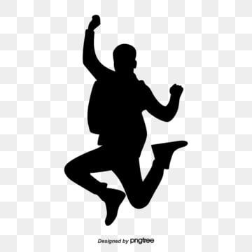 The Silhouette Of Men In Jumping Jumping Clipart Figure Silhouette Jump Png Transparent Clipart Image And Psd File For Free Download Clip Art Man Clipart Silhouette