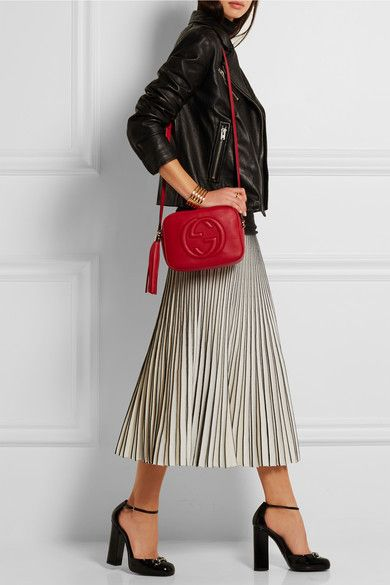 Gucci   Sac porté épaule en cuir texturé Soho   NET-A-PORTER.COM