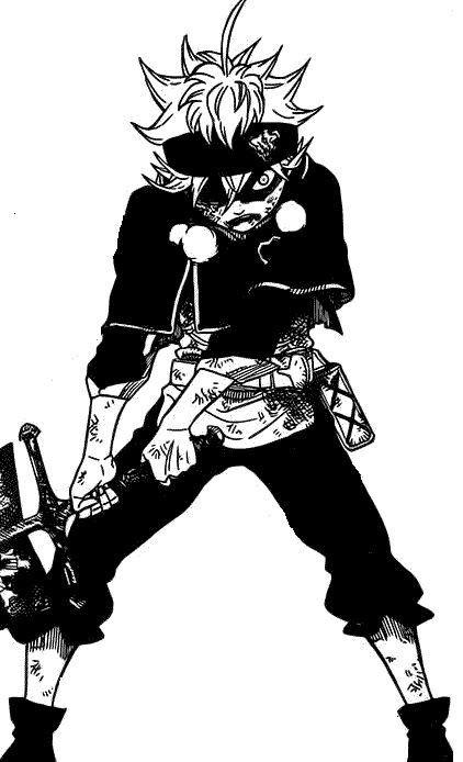 Asta Black Clover Black Clover Manga Anime Hd