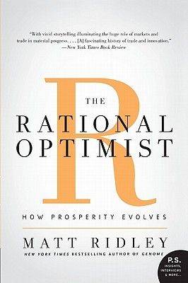 Pdf Download The Rational Optimist How Prosperity Evolves By