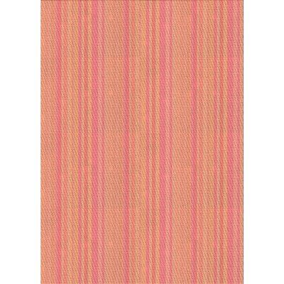East Urban Home Bifrost Striped Wool Pink Orange Area Rug Rug Size Rectangle 3 X 5 Orange Area Rug Area Rugs Beige Area Rugs