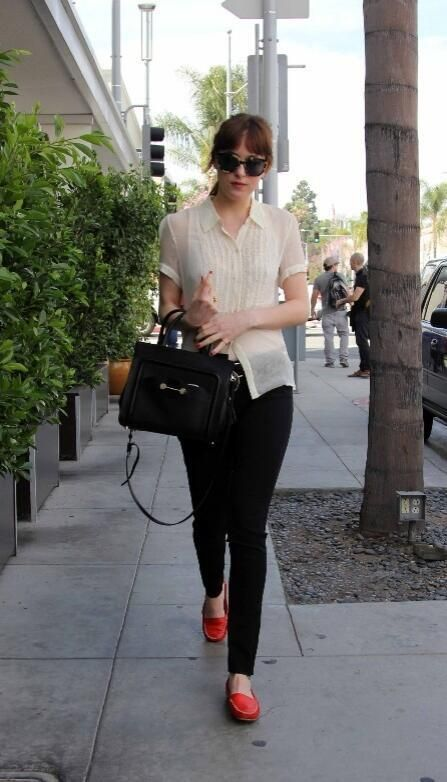 Out and about in LA.