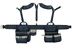 Adjustable Ballistic Nylon Electrician Construction Polyester Tool Belt Pouch