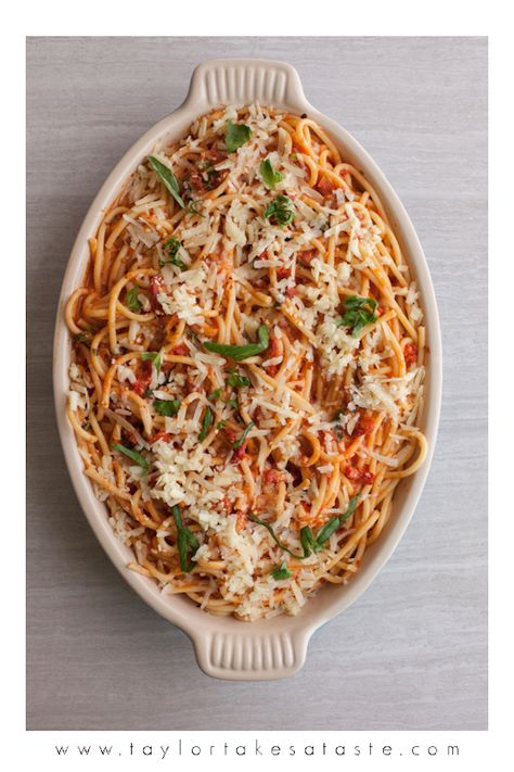 Sun-Dried Tomato Bucatini with Pancetta