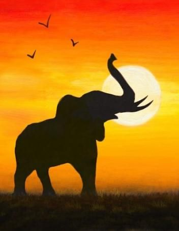 Painting Elephant Africa 62 Ideas For 2019 #painting