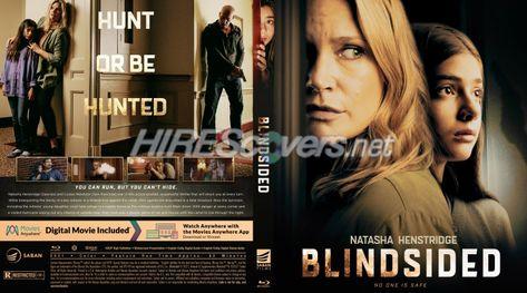 DVD Cover Custom DVD covers BluRay label movie art - Blu-ray CUSTOM Covers - B / Blindsided (2021)