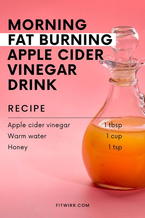Smoothies, Banana Drinks, Fat Burning Drinks, Weight Loss Meal Plan, Health And Nutrition, Healthy Drinks, Lose Weight, Apple Cider Vinegar For Weight Loss, Apple Cider Vinegar Morning