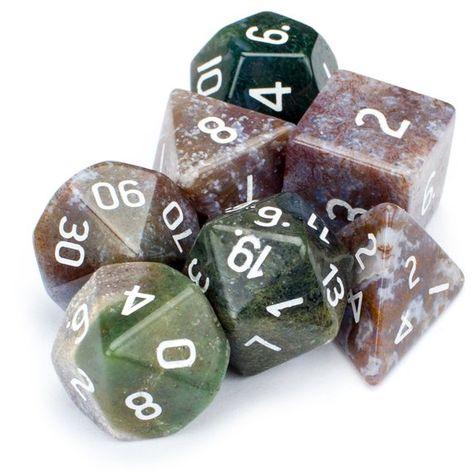 7pcs Black Metal Polyhedral RPG Dice Set Math Jumanji Video Table Game