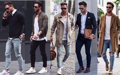 Moda 2016 2017 Hombre Todas Las Tendencias En Ropa De Hombre Ropa De Hombre Moda Hombre Estilo De Ropa Hombre