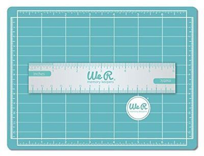 We R Memory Keepers 7 By 5 Inch Magnetic Mat And 6 Inch Ruler Mini We R Memory Keepers Memory Keepers Inch Ruler