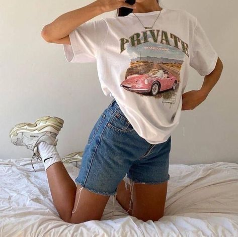 Cute Casual Outfits, Retro Outfits, Vintage Outfits, Short Outfits, How To Have Style, Style Me, Surfergirl Style, Mode Pastel, Mode Outfits