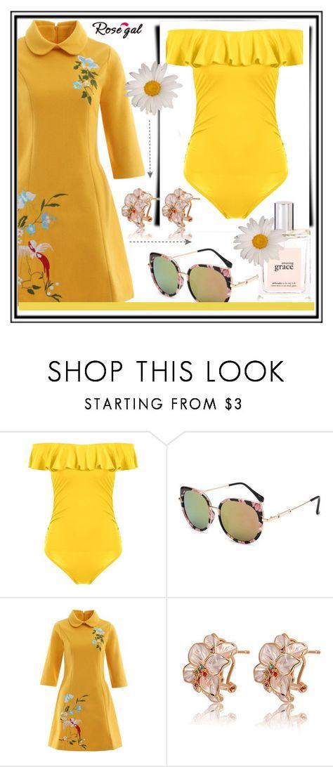 """Rosegal fashion set"" by erina-salkic liked on Polyvore ..."