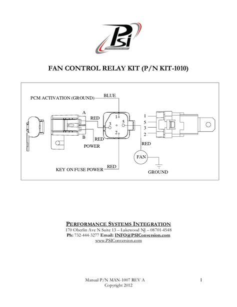 wire harness instruction fan control relay kit wiring harness relay  harness  instruction  fan control relay kit wiring harness