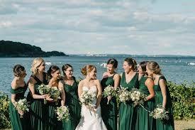 Image Result For Mismatched Hunter Green Bridesmaid Dresses Forest Green Bridesmaid Dresses Dark Green Wedding Emerald Green Bridesmaid Dresses