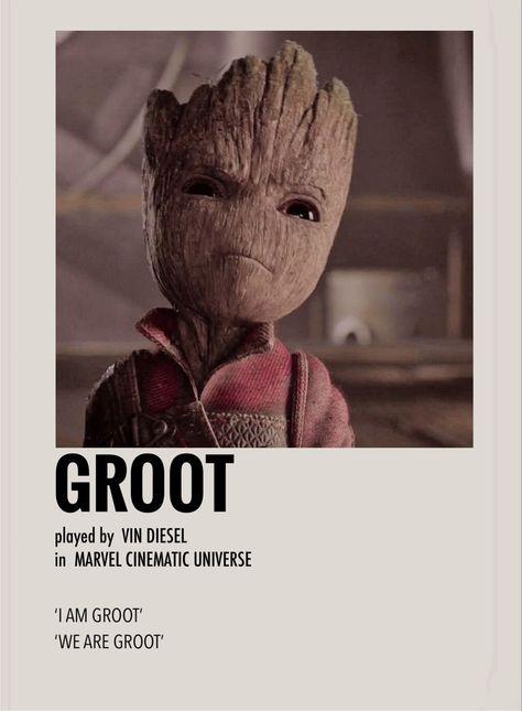 Groot by Millie