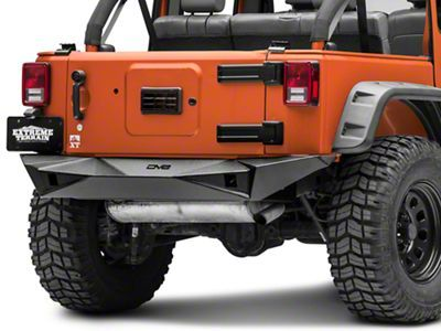 Free Shipping Rugged Aggressive Style Get Added Protection And Style With A Dv8 Off Road Rs 14 Full Width Rear Bumper This Bumper Can Accommodate A Tire Siz